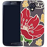 coque housse etui case cover samsung galaxy s4 i9500 - red poppy
