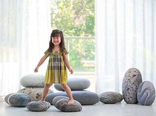 """Preisvergleich Produktbild Vercart (TM) - Plüsch Kissen auf dem Boden Stein kissen Kinderspielzeug 18""""x14"""" - Wohndekoration Kuscheltier Hintergrund und Requisit von Fotos und Films (LS0324)"""
