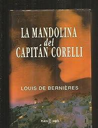 La mandolina del capitán Corelli par  Louis de Bernieres
