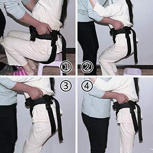 51QgkAqrh7L - YxnGu Cinta de Transferencia - Dispositivo de arnés del cinturón de la Marcha de la grúa de Asistencia móvil para bariátrica, pediátrica, Ancianos, Terapia Ocupacional y física