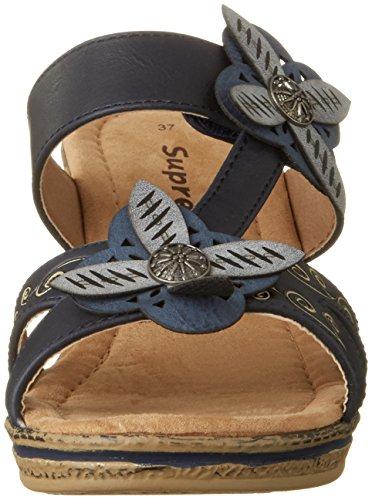 Supremo Ladies 2720509 Mules Blue (navy)
