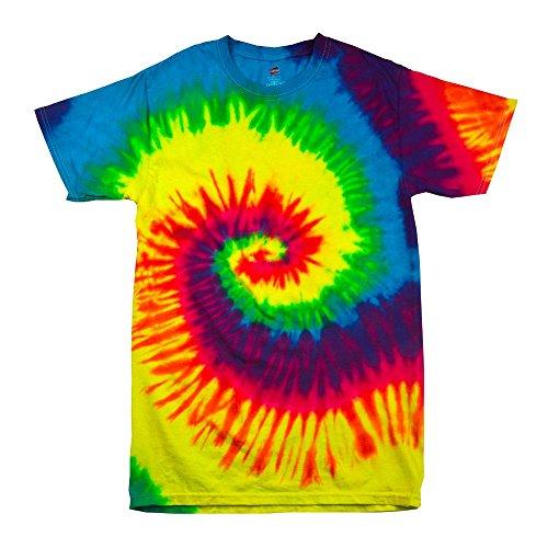 atik T-Shirt 'Rainbow' / Rainbow, XXL (Rasta Kostüm)