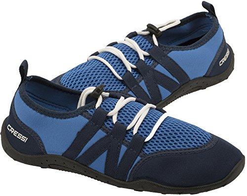 Cressi Unisex- Erwachsene Elba Pool Shoes Badeschuhe für Meer, Strand, Boot und Wassersport, Blau, 40 EU