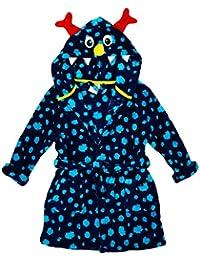 Niño Alien Monster Campana De Cara Bata Con capucha Albornoz tallas desde 2 a 11 Años