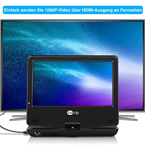 Blu Ray Dvd Player Auto Tragbarer Monitor Mit 101 Zoll Hd
