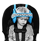 NapUp Reggitesta Bambini Auto Fascia per Dormire Accessori Seggiolino Auto Poggiatesta (Blu)