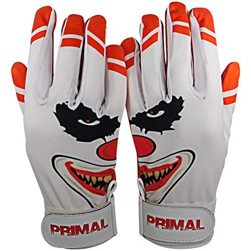 Primal Baseball Crazy Clown Baseball-Handschuhe, rot, Extra Large -