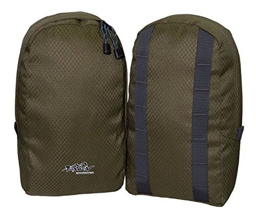 Tashev universelle Rucksack Seitentaschen Extrataschen Zusatztaschen (Seitentasche Rucksack)