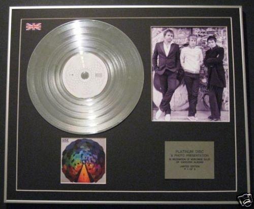 Muse-Ltd Edtn CD Platinum Disc + Foto-Der Widerstand -
