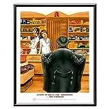 Veit`S Bilder Wandbild Cartoon Medizin Apotheke - Vitamin-Aufbaupräparate Oder Antidepressiva! (Mittel 40x50mit Rahmen)