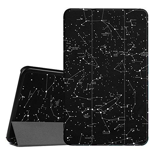 FINTIE Custodia per Samsung Galaxy Tab A 10.1 2016 - Sottile di Peso Leggero Cover con Auto Sveglia/Sonno Funzione per Samsung Galaxy Tab A6 10,1 Pollici SM-T580 / T585, Constellation