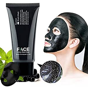 FACEAPEEL® Pulizia Profonda Black Mask Blackhead Rimozione Peel Off Maschera per Viso e Corpo 50ml
