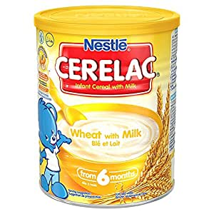 Nestle Cerelac Wheat with Milk - Pack of 1, 400Gms