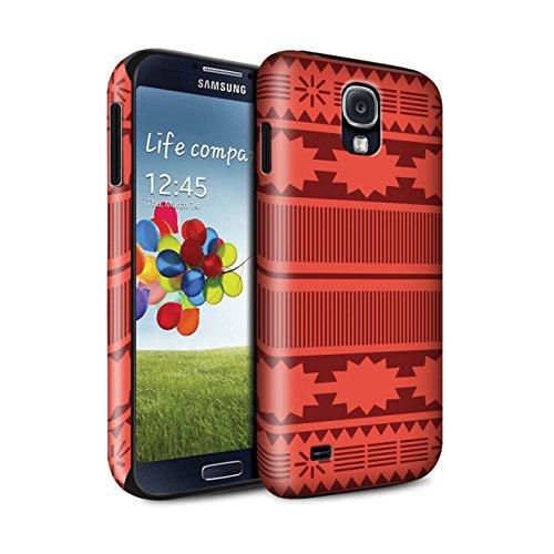 n Stoßfest Hülle/Case für Samsung Galaxy S4/SIV/Aztek/Prinzessin Kleid Muster/Karikatur Polynesische Prinzessin Kollektion ()