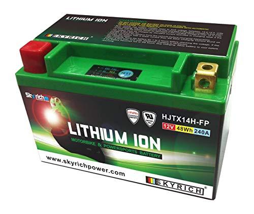 SUZUKI 1400GSX/1000V-Strom/1000SV/650burgman-batterie litio ltx14-bs skyrich–327105