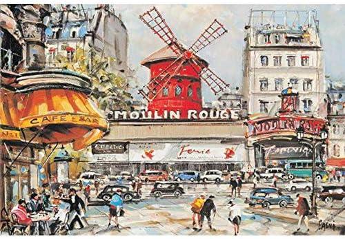 YPPDSD 1000 1000 1000 pièces Puzzle, Puzzle Moulin Rouge - Temps ennuyeux pour  s Adultes en Bois Puzzle Puzzle Illumination Jouet de décompression | Commandes Sont Les Bienvenues  2981d3