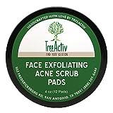 TreeActiv Blackhead Face Scrub Pads - Fo...