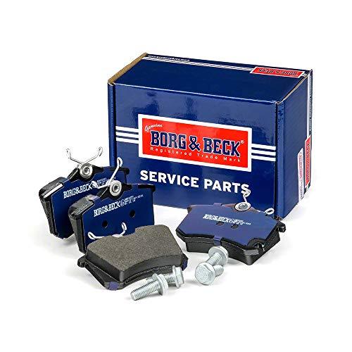 Borg & Beck BBP2251 Kit pastiglie Freno