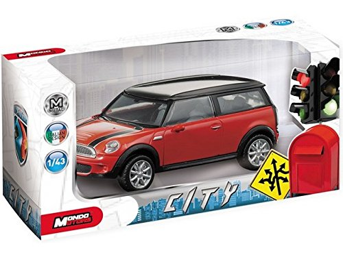 Mondo Modellino Auto MOTORS ASSORT.CITY Scala 1:43 53195