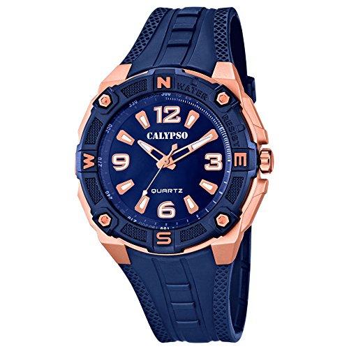 calypso-de-hombre-reloj-de-pulsera-sport-analog-pu-de-pulsera-azul-reloj-de-cuarzo-esfera-azul-cobre