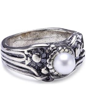 Trollbeads Damen-Ring Jugendstil Perle R1103