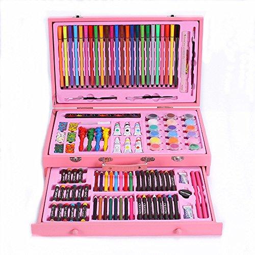 Wanlianer penna di vernice pittura 130 confezioni di materiale scolastico gli studenti spazzola dell'acquerello penna pittura pastello arte di cancelleria per bambini segna la penna
