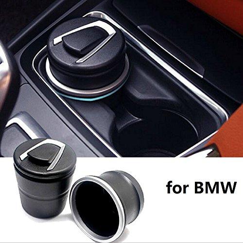 Preisvergleich Produktbild Tuqiang Auto Aschenbecher für Getränkehalter mit Deckel Rutschfestig tragbar Universal