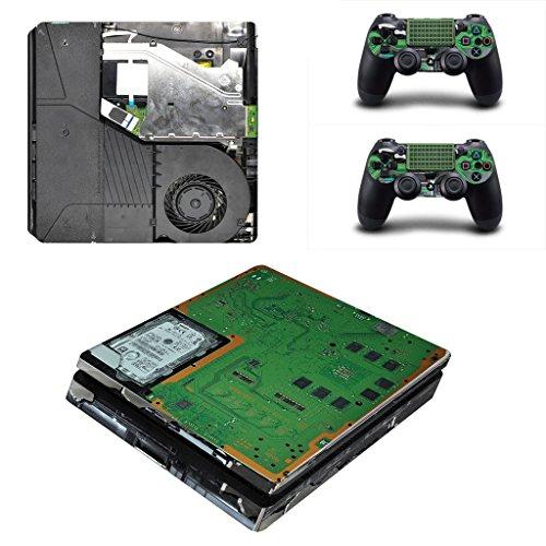 PS4 Slim skin circuiti