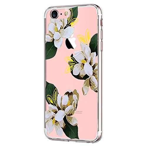 Yimer iPhone 7 Hülle, transparentes TPU Case Silikon der Tiere Backcover Handyhülle kreatives Design Panda Muster Bedecken zurück für Apple iPhone 7 Case Cover (iPhone 7, 4)