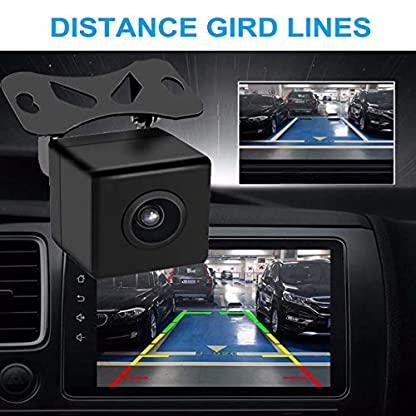 Auto-Rckfahrkamera-170-Grad-Weitwinkelobjektiv-Kamera-IP67-Wasserdicht-Nachtsicht-fr-RckfahrhilfeEinparkhilfe-ideal-Mini-Rckfahrkamera-fr-Anhnger-Truck-Vans