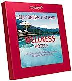 mydays Hotel-Gutschein WELLNESSHOTELS |1 Übernachtung mit Frühstück für 2 Personen |über 70 Hotels |Inklusive Geschenkbox