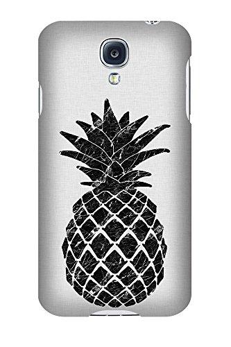 artboxONE Premium-Handyhülle Samsung Galaxy S4 Marble Pineapple - Abstrakt Geometrie Natur Essen &...