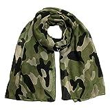 Bufanda de Camuflaje,Morwind Bufanda de algodón Chal de Invierno Caliente Bufandas Gruesas pañuelo para Mujeres niñas por Morwind (H)