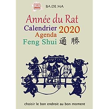 Calendrier Agenda Feng Shui 2020 - Annee du Rat
