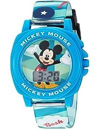 Disney Boy's Quartz Plastic Casual Watch Color:Blue (Model: MK1328)