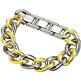"Esprit Collection ELRG91750 C180 Women ""S Bracelet Stainless Steel Rhodium-Plated Bi Meramia S.ELBR11606H195 Gold 19 CM"