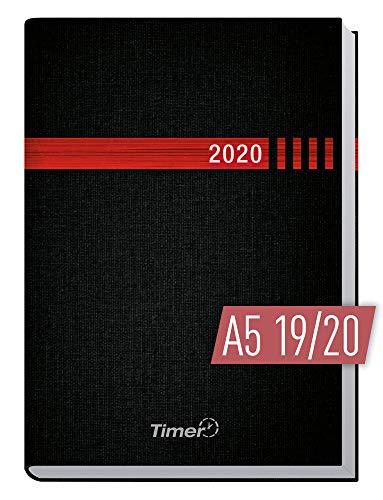 Chäff-Timer Classic A5 Kalender 2019/2020 [schwarz-rot] Terminplaner