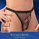 Svenjoyment Herren String Netz schwarz M, 1er Pack (1 x 1 Stück)