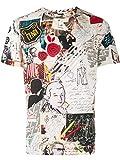 Fendi Luxury Fashion Herren FY0894A9IXF18N2 Multicolour T-Shirt   Herbst Winter 19