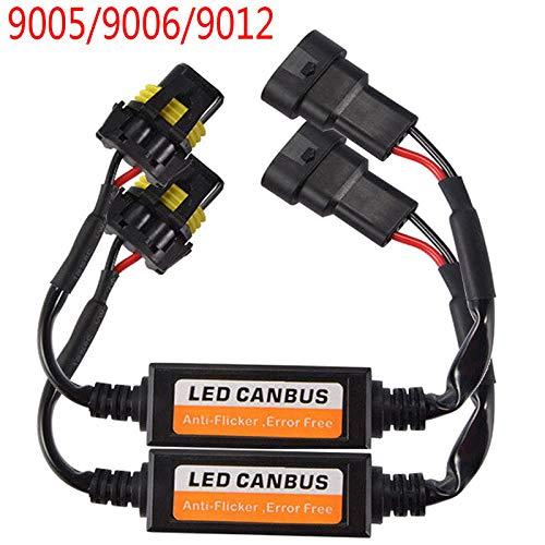 Single Line T20 Voiture LED Decoder Avertissement derreur Canceller Clignotant Lampe Anti Flicker 2pcs 7440