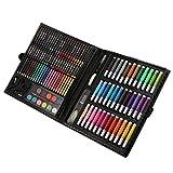 chiwanji 150pcs Matita Colorata Matita Pastello E Pennello Pittura A Olio per Bambini Disegno Penna Strumento Set di Giocattoli di Disegno d'Arte