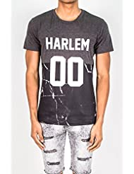 T-shirt Harlem 00 Sixth June marbre gris 1629V