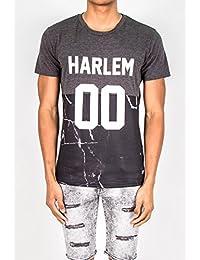 T-shirt Harlem 00 Sixth June marbre gris 1629V