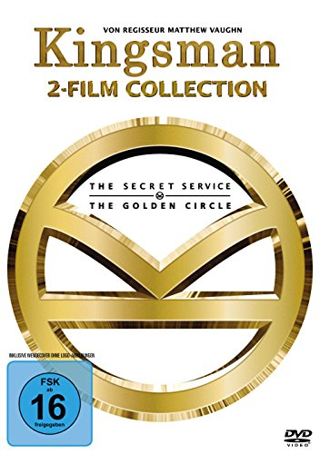 Kingsman - 2-Film-Collection [2 DVDs] (Collection Jackson-video Michael)