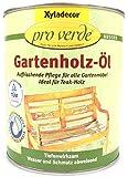 Xyladecor pro verde Gartenholz-ÖL, 0,75 Liter in natur