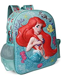 db2ddd86a8 Disney Princess Ariel Turquoise School Bag for Children of Age Group 3 - 5  years