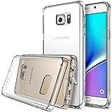Galaxy Note 5 Funda - Ringke FUSION [Crystal View] *** Todos Nuevo Gratis de Tapa Contra el Polvo y Tecnología Activo Tocar *** [GRATIS Protector de Pantalla HD Incluido] Cristal Claro Choque Absorción TPU Parachoques Protección Gota Prima Claro Trasera Dura [Antiestático][Resistente a Arañazos] para Samsung Galaxy Note 5 - Eco/DIY Paquete