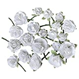 Creative elements handmade paper rose hill x20 white