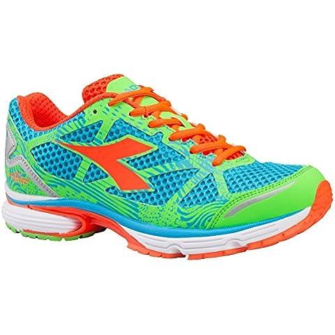Sneaker Running Herren DIADORA N 61003Brill Blue/Flash Green 9.5 *