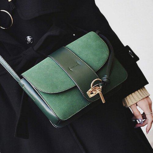 DFUCF Damen Damen PU Büro Beruf Umhängetasche Kuriertasche Handtasche Umhängetasche Tasche Mode Lässig Robust Langlebig clover
